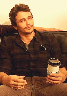 James Franco wake up & smell the coffee ;)