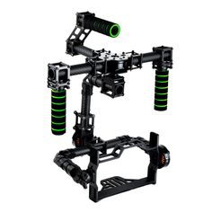 3 axis DSLR Brushless Gimbal Glass Fiber Handle Camera Mount DSLR 5D GH3  for FV Photography (no inlcudes MOTOR)