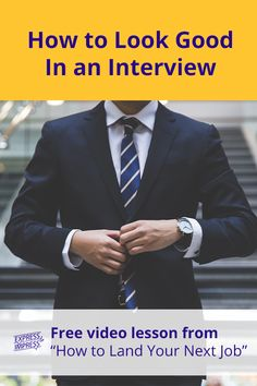 """The clothing you wear to an interview should convey that you're competent, respect the interviewer, take the opportunity seriously, and belong. From your clothes to makeup and overall look, get job interview tips for men and women for casual, business casual, and formal business workplaces in this free video lesson in the online video course, """"How to Land Your Next Job."""" #InterviewTips #InterviewOutfit #JobInterview #InterviewMakeup #Interview Common Job Interview Questions, Interview Answers, Job Interview Tips, Interview Preparation, Business Formal, Business Casual, Interview Makeup, Job Coaching, My Resume"""