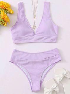 Purple Bathing Suit, Purple Swimsuit, Summer Bathing Suits, Cute Bathing Suits, Summer Suits, Purple Bikini Set, Bikini Sets, Bikini Swimsuit, Hot Bikini