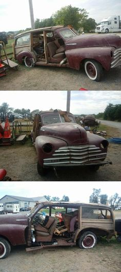 rare 1948 Chevrolet Woody Wagon project Project Cars For Sale, Woody Wagon, Chevrolet, The Unit, Projects, Blue Prints, Tile Projects