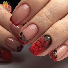 Creative Nail Art Ideas - Nail Art # 3650 - Fun and easy manicure and nail art style tutorials for p French Manicure Designs, Best Nail Art Designs, French Pedicure, Pedicure Designs, Pedicure Ideas, Trendy Nail Art, Cool Nail Art, French Nails, French Manicures
