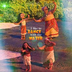 Moana and her Grandma stay there and Moana and her Grandma age in 1 dance. I can't believe it. DON'T comment 'they didn't really do it THAT long they didn't age while doing it'.
