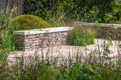 Chelsea Flower Show 2015 - Cloudy Bay garden Country Landscaping, Landscaping With Rocks, Chelsea Flower Show, Back Gardens, Outdoor Gardens, Roof Gardens, Plant Design, Garden Design, Cloudy Bay