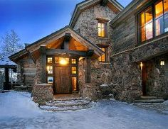 One of the best rustic exteriors I have seen