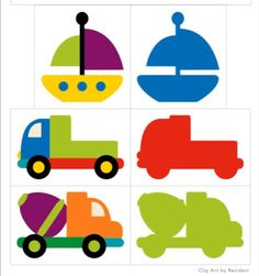 shadow matching vehicles for kıds File Folder Activities, Writing Activities, Activities For Kids, Preschool Themes, Preschool Worksheets, Transportation Activities, Material Didático, Grande Section, Memory Games
