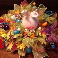 Easter Table Centerpiece by WreathsEtc on Etsy