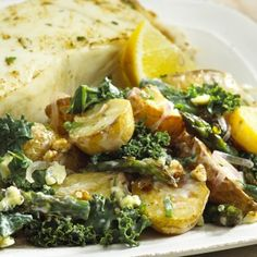 Kale and Potato Salad— National Potato Lover's Month