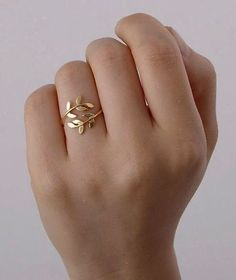 Olive department leaf ring – Oh Yours Vogue – Bracelet, Olive Leaf Bracelet, Grecian…Popular wedding ring width comparison – A…Rose gold engagement ring Diamond Cluster ring… Cute Jewelry, Gold Jewelry, Jewelry Rings, Jewelry Box, Jewelery, Jewelry Accessories, Gold Bracelets, Jewelry Making, Pandora Jewelry