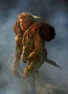 """""""I can't carry it for you, but I can carry you."""" -Samwise Gamgee"""