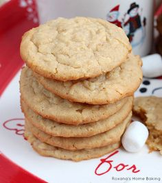 Chewy-Coconut-Peanut-Butter-Cookies Recipe - RecipeChart.com ....Coconut and peanut butter?!?!?!
