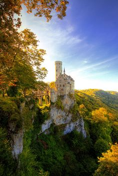 Lichtenstein Castle - Germany by kryyslee, via Flickr