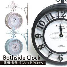 壁掛式両面時計