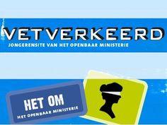 Vetverkeerd.nl / Netwijs.nl - Maakt je wereldwijs  De jeugdsite van het Openbaar Ministerie. Hier vind je allerlei informatie over boetes, jeugdstrafrecht en nog veel meer. Verder vind je er stellingen, kleurplaten, links en informatie voor je spreekbeurt.