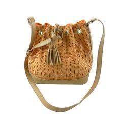 New design Woven PU crossbody bag