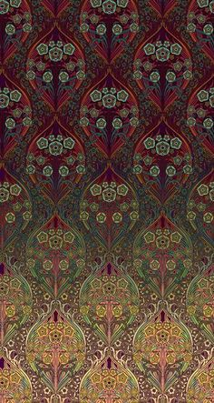 by Sarah Devey, surface and pattern illustrator and textile design Textile Patterns, Textile Prints, Textile Art, Color Patterns, Print Patterns, Textile Design, Fabric Design, Of Wallpaper, Pattern Wallpaper