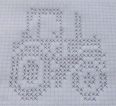 Bilderesultat for moods traktor diagram Baby Boy Knitting Patterns, Knitting Charts, Knitting For Kids, Double Knitting, Knitting Stitches, Knit Patterns, Baby Knitting, Filet Crochet, Crochet Chart