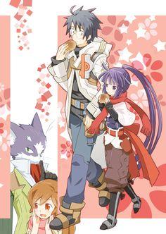 Akatsuki,Nyanta,Serara,Shiroe