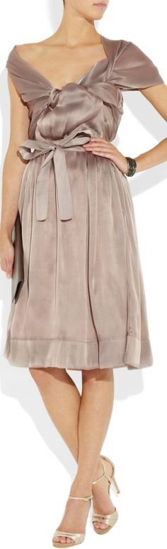 Vivienne Westwood ● Cocktail Dress. The drape of this dress is ...