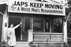 Japanese internment 1940s  #America