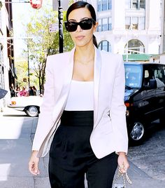 Kim Kardashian Style Advice: 9 Surprising Must-Try Tips via @WhoWhatWearUK