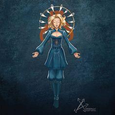 The Price of Peace- Duchess Satine by euclidstriangle Star Wars Fan Art, Star Trek, Duchess Satine, Satine Kryze, Motif Art Deco, Obi Wan, Clone Wars, Cosplay Costumes, Nerd