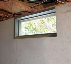 New Replacing Basement Window