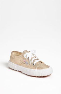 Superga 'Classic Glitter' Sneaker (Walker, Toddler & Little Kid) available at #Nordstrom