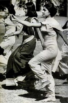 Students in Delhi enrolled in the NCC (LIFE magazine, 1962).  This is from coverage of the Sino-Indian 1962 conflict.