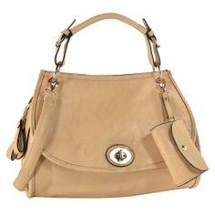 ELISA Beige Doctor Style Office Tote Clearance Handbags, Fashion Bags, Fashion Accessories, Hobo Handbags, Tote Purse, Beige, Shoulder Bag, Purses, Stylish