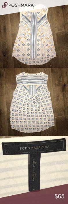 BCBG Maxazria dressy top open back Long top, open back. Size medium BCBGMaxAzria Tops