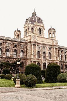 Maria Theresien Platz, Vienna Austria
