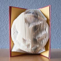 Hunger Games Mockingjay Folded Book Art Book by HappyLittleGifts
