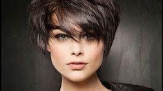 Красивая женская стрижка на короткие волосы - YouTube