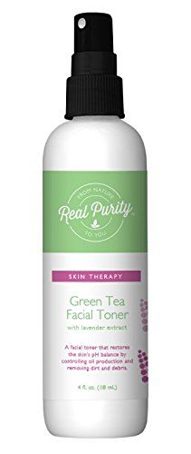 Face Skin Care Real Purity Green Tea Facial Toner 4 fl oz *** You can get more details by clicking on the image. Toner For Face, Skin Toner, Facial Toner, Organic Aloe Vera, Organic Herbs, Organic Face Wash, Green Tea Facial, Cypress Oil, Face Skin Care