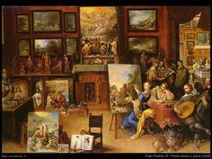 Pittura, poesia e musica, Frans Francken