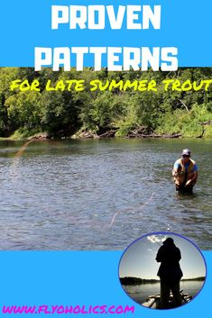 Having those late-summer trout blues? Here's a list of proven patterns to help you put more trout on the end of your fly line. Good fishing! #flyfishing #troutonthefly #troutflies #flyfishingfortrout #summertrout #terrestrialpatterns #caddisflies #mayflies #midges #learnhowtoflyfish #flyfishingtips #flyfishingforbeginners #flyfishingmistakes #TipsOnFlyFishing