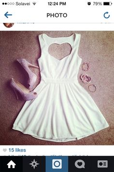 A nice summer outfit:)