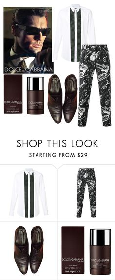 """""""style chic"""" by cinzia-cipriani ❤ liked on Polyvore featuring Dolce&Gabbana, men's fashion and menswear"""
