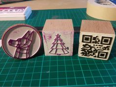 Using Inkscape + OpenSCAD to 3D print stamps
