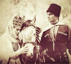 Amazing photo from Circassian pair. Amazing Photography, Street Photography, Folk Costume, Costumes, Dance Logo, Central Asia, People Around The World, Female Art, Cool Photos