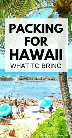 What to pack for Hawaii for a week: What to bring and put on Hawaii packing list for male and female Best clothes and shoes to wear in Hawaii Vacation tips for Kauai, Maui, Oahu, Big Island outdoor travel destinations on a budget with culture - Travel Kauai, Oahu Hawaii, Visit Hawaii, Hawaii Honeymoon, Hawaii Travel, Beach Travel, Hawaii Beach, Hawaii Trips, Honeymoon Tips