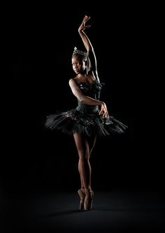 Michaela DePrince | Photo by Rachel Neville #ballet- need something like this for Victorias bedroom