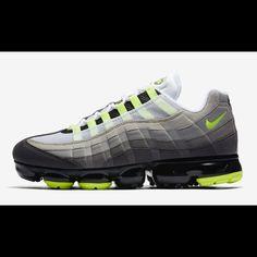 2334186205e7 Nike Shoes   Nike Vapormax Air Max 95 Og Neon Black Mens Sz 9   Color
