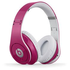 Beats in pink! i so want!