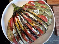 aubergine waaier