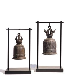 Thai temple bells from Michael Dawkins Home: Thai Decor, Asian Decor, Decorative Accessories, Decorative Items, Decorative Bells, Temple Bells, Chinese Element, Mood And Tone, Oriental Design