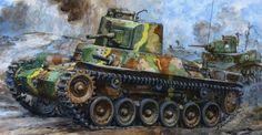 Tanque japonesTipo 97 Chi Ha. BFD