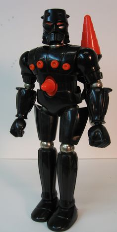 "Baron Karza, Micronauts with firing red missiles. ""You'll put your eye out."""