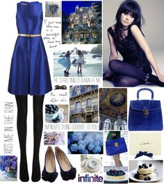 """""""royal blue"""" by misslenny ❤ liked on Polyvore"""